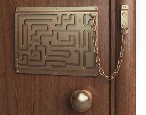 The Most Secure Chain Door Lock in the World   Funny Stories ...